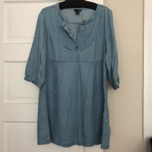 H&M Chambray Dress/Tunic, Size 10